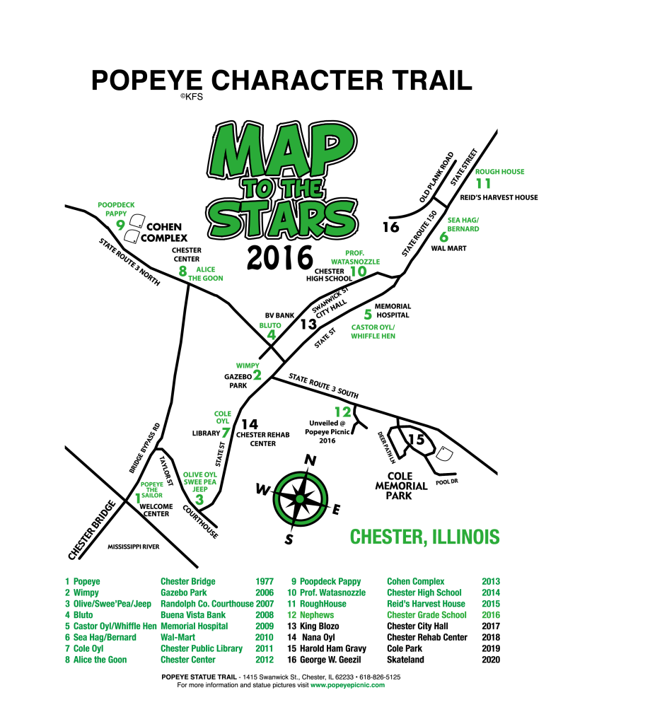 Character Trail 2016